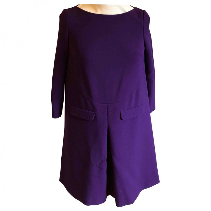 Thumbnail for your product : BA&SH Purple Polyester Dresses