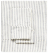 Melange Home Bamboo Cotton Stripe Sheet Set