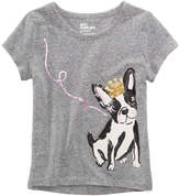 Epic Threads Sequin Puppy T-Shirt, Little Girls, Created for Macy's