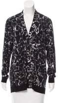 Balenciaga Printed Wool Cardigan