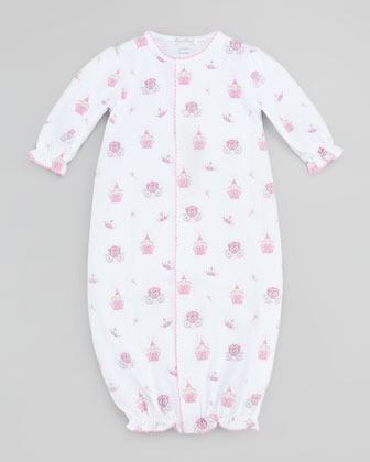 Kissy Kissy Enchanted Baby Convertible Gown, Pink
