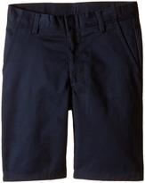 Nautica Flat Front Twill Shorts (Little Kids/Big Kids)
