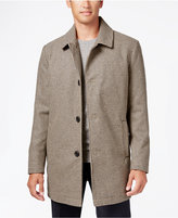 Kenneth Cole New York Wool-Blend Checked Walker Coat