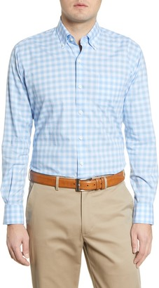 Peter Millar Judson Check Button-Down Shirt