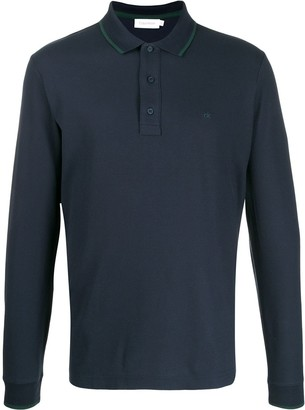 Calvin Klein Long Sleeve Polo Shirt