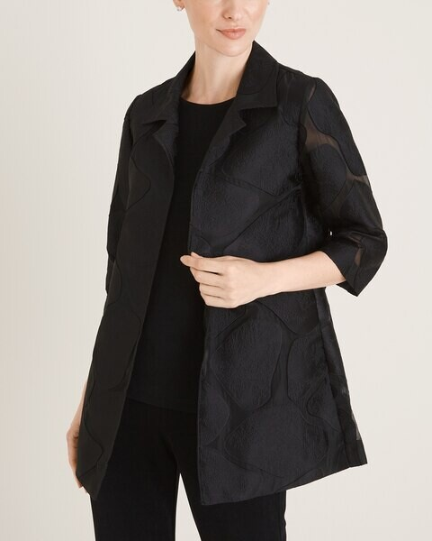 Travelers Collection Organza Jacket