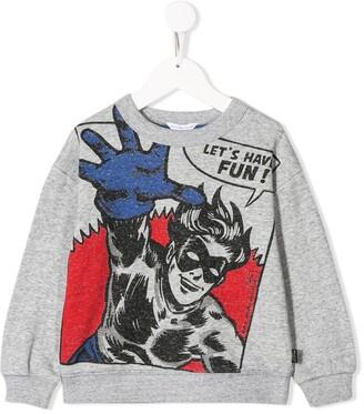 Little Marc Jacobs superhero print sweatshirt