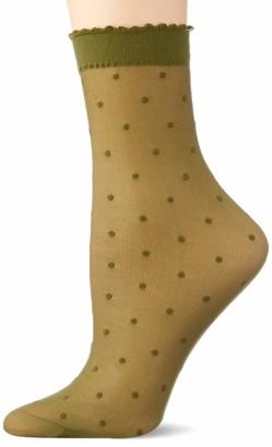 Falke Women's Dot Dress Sock 15 DEN