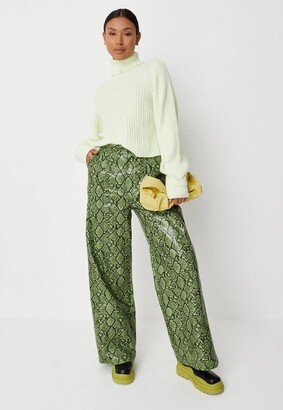 Missguided Petite Cream Tuck Sleeve Turtle Neck Cropped Sweater