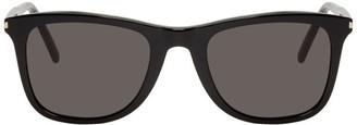 Saint Laurent Black SL 304 Slim Sunglasses