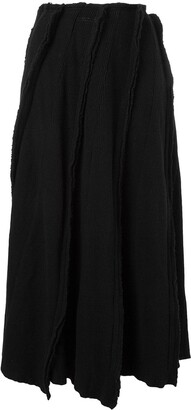Comme des Garcons Pre-Owned ribbed knit skirt