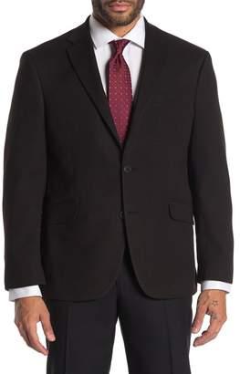 Kenneth Cole Reaction Black Textured Slim Fit Evening Jacket