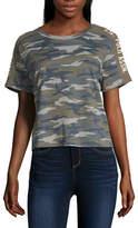 U.S. Polo Assn. Juniors-Womens Crew Neck Short Sleeve T-Shirt