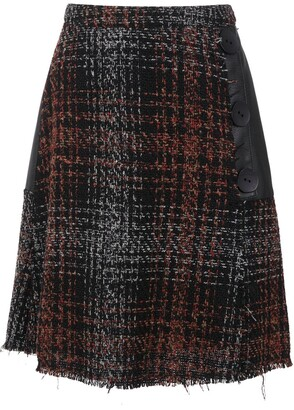 Olympiah Eirene plaid skirt