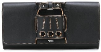 Perrin Paris Le Cabriolet glove detail clutch bag