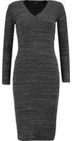 Monrow Ribbed Slub Jersey Dress