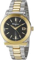 Salvatore Ferragamo Men's FF3910015 1898 Analog Display Quartz Two Tone Watch