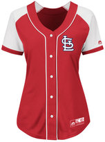 Majestic Women's St. Louis Cardinals Fashion Replica Jersey