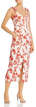 Rebecca Taylor Scarlet Embroidered Dress