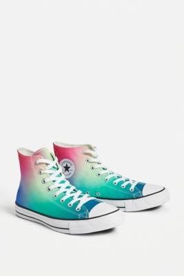 Converse Chuck Taylor All Star Ombre High-Top Trainers - Assorted UK 3 at Urban Outfitters