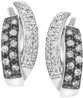 AX Jewelry Ladies 3/8cttw Silvermist Diamond Earring in Sterling Silver