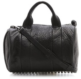 Alexander Wang Rocco Duffel with Silver Hardware