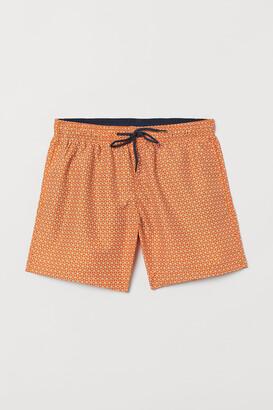 H&M Printed Swim Shorts