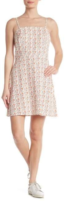 Cotton On & Co. Krissy Linen Blend Floral Dress