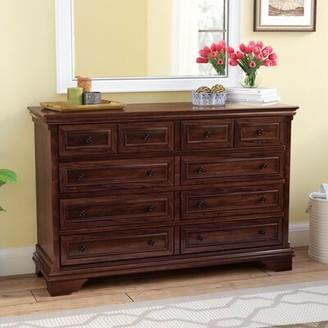 Three Posts Curran 8 Drawer Double Dresser