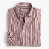 J.Crew Slim Secret Wash shirt in red stripe