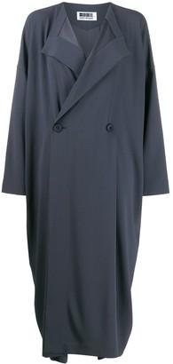 132 5. ISSEY MIYAKE Oversized Fit Long Coat