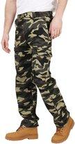 KRISP Relaxed Fit Combat Pants (7980-KHA-XL)