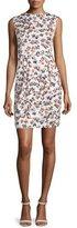 Armani Collezioni Sleeveless Printed Sheath Dress, Sienna/Multi