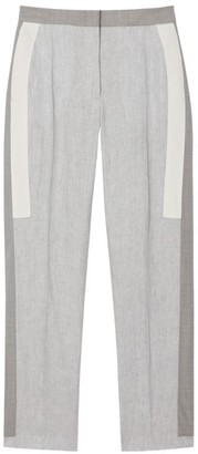 Burberry Stretch Wool Straight Trousers