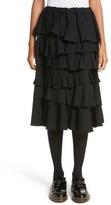 Comme des Garcons Women's Ruffle Gabardine Skirt