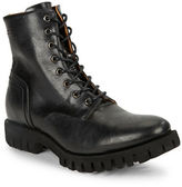 Diesel Depp Lace-Up Leather Boots