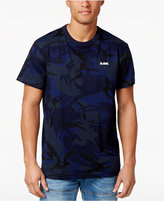 G Star Men's Hoyn Camouflage Logo Cotton T-Shirt