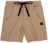 Munster Stretch-Cotton Twill Cutoff Shorts