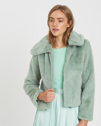 Charlie Holiday Sundays Faux Fur Jacket