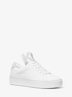 MICHAEL Michael Kors Mindy Studded Leather Sneaker