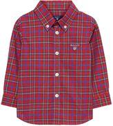 Gant Baby Boy Tartan Plaid Shirt 0-3 Yrs