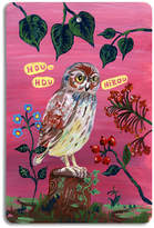 Avenida Home - Nathalie Lété - Cutting Board - Owl