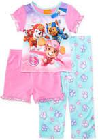 PAW Patrol 3-Pc. Pajama Set, Toddler Girls (2T-5T)