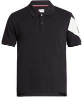 Moncler Gamme Bleu Cotton-piqué polo shirt