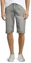 True Religion Geno Overactive Slim Cutoff Denim Shorts, Cho Charcoal