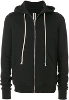 Rick Owens classic zipped hoodie