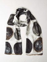 White Stuff City scape spot scarf