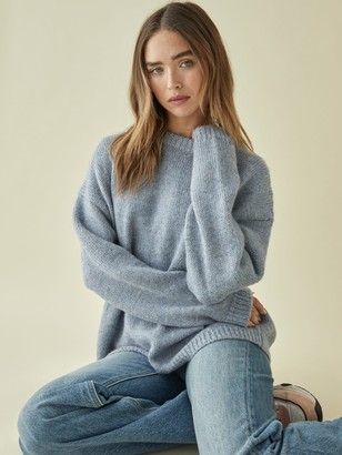 Reformation Jour Oversized Crew Sweater