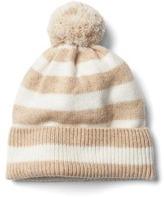 Gap Merino wool blend stripe beanie