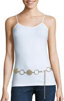 Asstd National Brand Filigree Disc Hammered Ring Chain